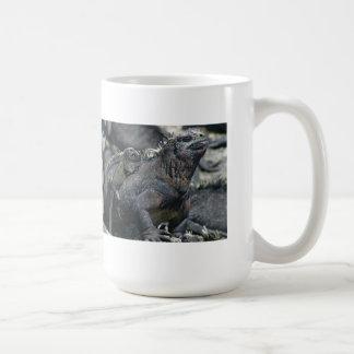 Galapagos Marine Iguana and baby Mug