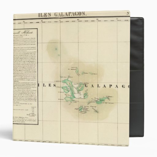 Galapagos Oceania no 17 3 Ring Binder
