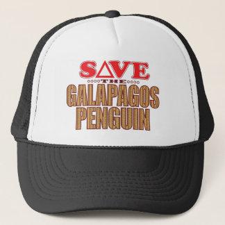Galapagos Penguin Save Trucker Hat