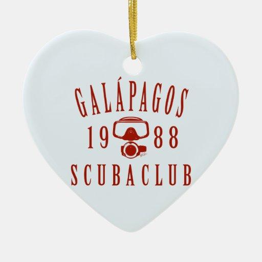Galapagos Scuba Club Christmas Ornament