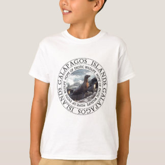 GALAPAGOS SEALS ROUND T-Shirt