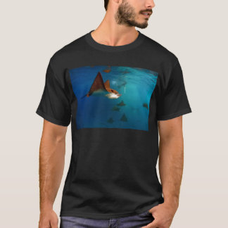 Galapagos underwater Spotted eagle rays T-Shirt