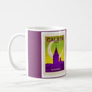 Galata Tower Classic White Coffee Mug