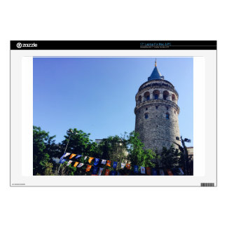 Galata Tower Inspired Decal For Laptop