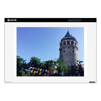 Galata Tower Inspired Laptop Decals