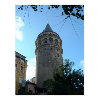 Galata Tower Postcard