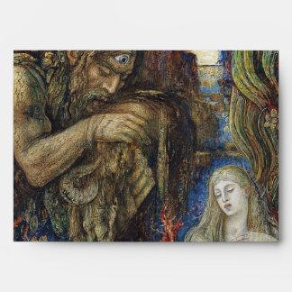 Galatea acuarela de Gustave Moreau