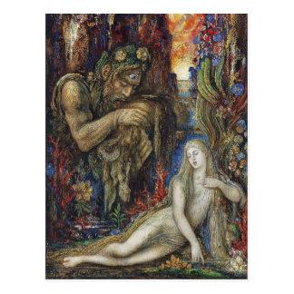 Galatea Gustave Moreau Watercolor Postcard