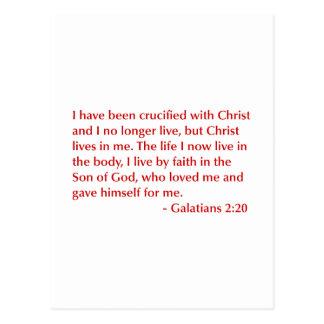 Galatians--2-20-opt-burg.png Postcard