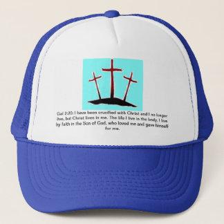 Galatians 2:20 Truckers Mesh Hat