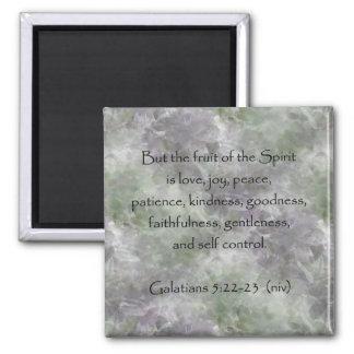 Galatians 5:22-23 ~ Fruit of the Spirit Magnet