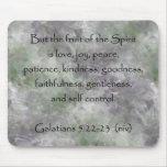 Galatians 5:22-23 ~ Fruit of the Spirit Mouse Pad