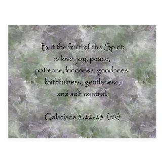 Galatians 5:22-23 ~ Fruit of the Spirit Post Cards