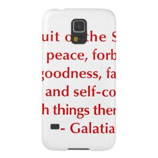Galatians--5-22-23-opt-burg.png Funda Para Galaxy S5