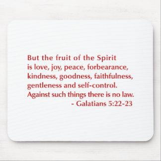 Galatians--5-22-23-opt-burg.png Mouse Pad