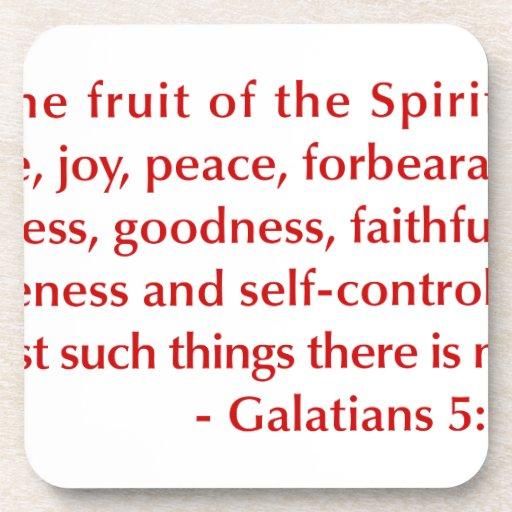 Galatians--5-22-23-opt-burg.png Posavasos De Bebida