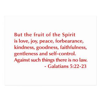Galatians--5-22-23-opt-burg.png Postcard
