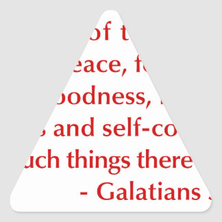 Galatians--5-22-23-opt-burg.png Triangle Sticker