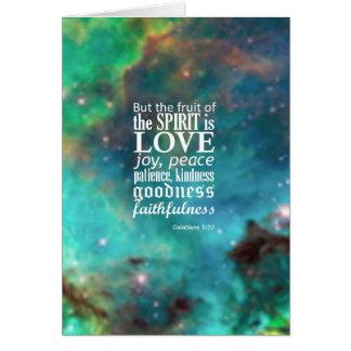 Galatians 5:22 cards