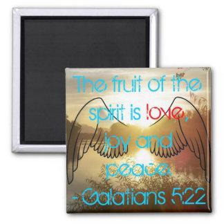 Galatians 5:22 Magnet