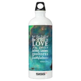 Galatians 5:22 SIGG traveler 1.0L water bottle