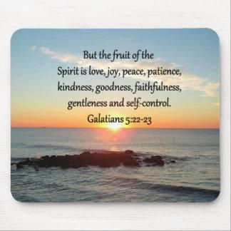 GALATIANS 5 FRUITS OF THE SPIRIT MOUSE PAD
