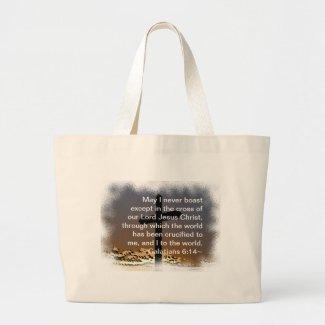 Galatians 6:14 bag
