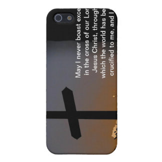 Galatians 6:14 case for iPhone SE/5/5s