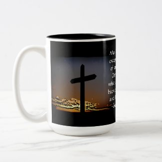 Galatians 6:14 coffee mugs
