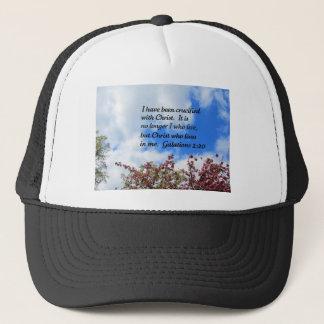 Galations 2:20 trucker hat