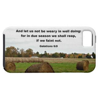 Galations 6:9 And let us knot be weary in well... iPhone 5 Cover