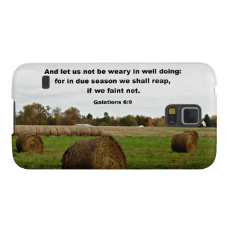 Galations 6:9 And let us knot be weary in well... Galaxy S5 Cases
