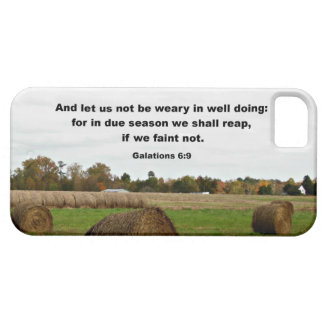 Galations 6:9 And let us knot be weary in well... iPhone 5 Case