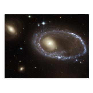 Galaxia 0644-741 del anillo postales