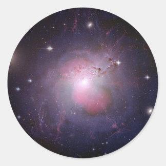 Galaxia 1275 del Cd de NGC Perseus Pegatina Redonda