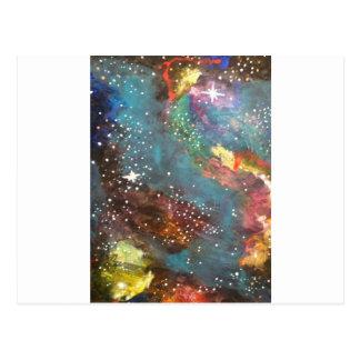 Galaxia 1 tarjetas postales