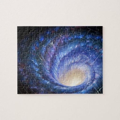 Galaxia 2 puzzle con fotos