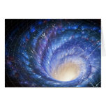 Galaxia 2 tarjeta de felicitación