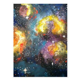 Galaxia 2 tarjeta postal
