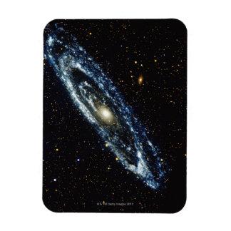 Galaxia 3 del Andromeda Imán Rectangular