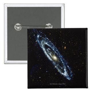 Galaxia 3 del Andromeda Pin Cuadrado