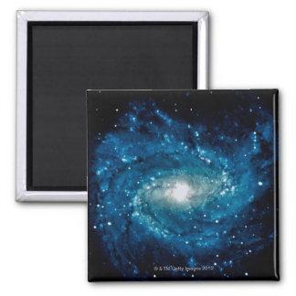 Galaxia 3 imán cuadrado
