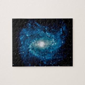 Galaxia 3 rompecabezas con fotos