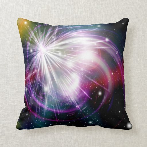 Galaxia abstracta 6 almohada