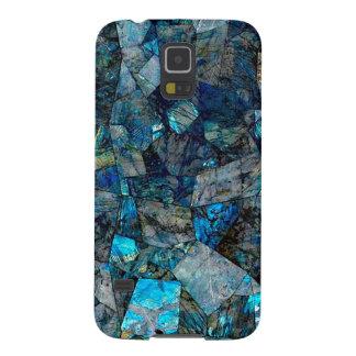 Galaxia abstracta artsy S5 de Samsung de las gemas Funda De Galaxy S5