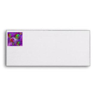 Galaxia abstracta de la púrpura del verde del frac