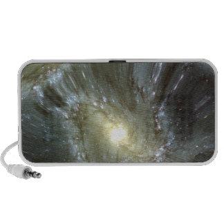 Galaxia alterada Digital Altavoz De Viaje