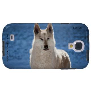 Galaxia ártica S4 de Samsung del lobo Funda Para Galaxy S4