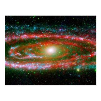 Galaxia asombrosa del Andromeda Postal