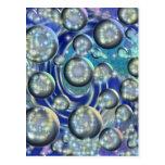 Galaxia azul postales